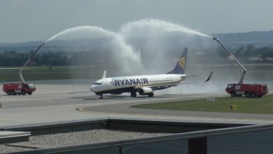In Which Situations Are Airplanes Greeted by the Water Salute?